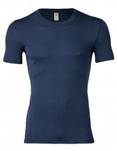 Herren Shirt Kurzarm Seide...